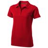 Seller short sleeve women's polo in red