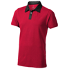 York short sleeve Polo in red