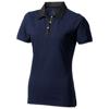 York short sleeve ladies Polo in navy
