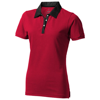 York short sleeve ladies Polo in red