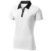 York short sleeve ladies Polo in white-solid