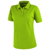 Primus short sleeve women's polo in apple-green