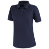 Primus short sleeve women's polo in navy