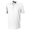 Crandall short sleeve men's polo in white-solid