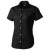 Manitoba short sleeve ladies Shirt in black-solid