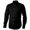 Vaillant long sleeve Shirt in black-solid