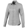 Vaillant long sleeve ladies shirt in steel-grey