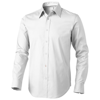 Hamilton long sleeve Shirt in white-solid