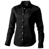 Hamilton long sleeve ladies Shirt in black-solid