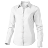 Hamilton long sleeve ladies Shirt in white-solid