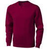 Surrey crew Sweater in burgundy