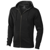 Arora hooded full zip sweater in anthracite