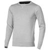 Fernie crewneck pullover in grey-melange