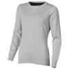 Fernie Crewneck Ladies Pullover in grey-melange