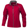 Egmont packable ladies jacket in red