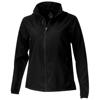 Flint lightweight ladies jacket in black-solid