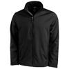 Maxson softshell jacket in black-solid