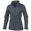 Maxson softshell ladies jacket in storm-grey