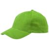Bryson 6 panel cap in apple-green