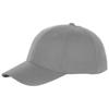 Bryson 6 panel cap in steel-grey