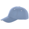 Brent 6 panel sandwich cap in light-blue