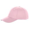 Brent 6 panel sandwich cap in light-pink
