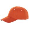 Brent 6 panel sandwich cap in orange