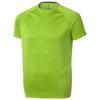 Niagara short sleeve men's cool fit t-shirt in apple-green