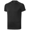 Niagara short sleeve men's cool fit t-shirt in black-solid