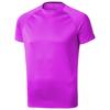 Niagara short sleeve men's cool fit t-shirt in neon-pink