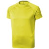 Niagara short sleeve men's cool fit t-shirt in neon-yellow