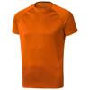 Niagara short sleeve men's cool fit t-shirt in orange