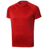 Niagara short sleeve men's cool fit t-shirt in red