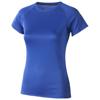 Niagara short sleeve women's cool fit t-shirt in blue