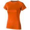 Niagara short sleeve women's cool fit t-shirt in orange