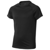Niagara short sleeve kids cool fit t-shirt in black-solid
