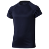 Niagara short sleeve kids cool fit t-shirt in navy