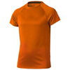 Niagara short sleeve kids cool fit t-shirt in orange