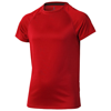 Niagara short sleeve kids cool fit t-shirt in red