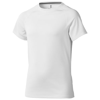 Niagara short sleeve kids cool fit t-shirt in white-solid