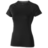 Kingston short sleeve women's cool fit t-shirt in black-solid