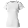 Kingston short sleeve women's cool fit t-shirt in white-solid