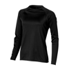 Whistler long sleeve T-shirt in black-solid
