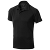 Ottawa short sleeve men's cool fit polo in black-solid