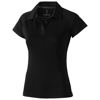 Ottawa short sleeve women's cool fit polo in black-solid