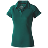 Ottawa short sleeve women's cool fit polo in forest-green