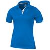 Kiso short sleeve women's cool fit polo in blue