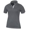 Kiso short sleeve women's cool fit polo in steel-grey