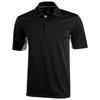 Prescott short sleeve Polo in black-solid