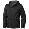 Labrador jacket in black-solid